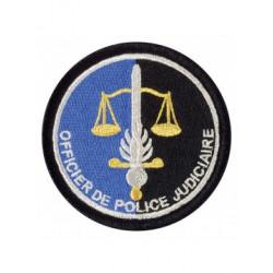 Ecu brodé OPJ gendarmerie