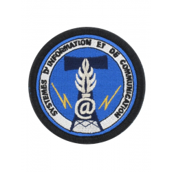 Ecusson brodé Systeme d'Information et Communications de la Gendarmerie