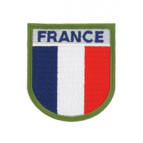 ECU BRODE FRANCE TRICOLORE ***
