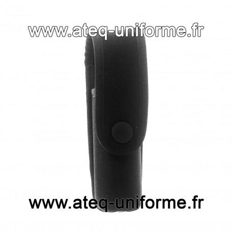 Porte Aérosol noir 75 ml attache MOLLE