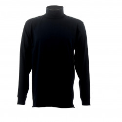 SOUS PULL COL ROULE MARINE ASVP