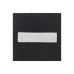 Grade 5 x 5 cm tissu sous lieutenenant