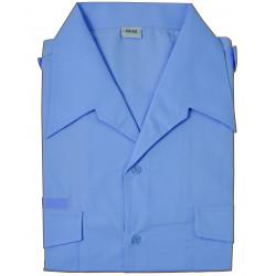 Chemisette plastron bleu ciel