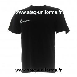 Tee-shirt coton GENDARMERIE noir