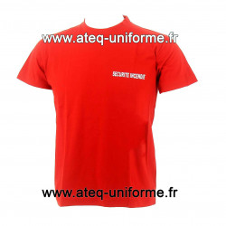 TEE SHIRT SECURITE INCENDIE OPTIMAL