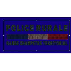BANDEAU BASSE VISIBILITE 13 X 6 CM GARDE CHAMPETRE
