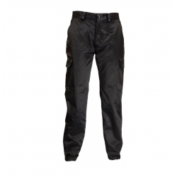 Pantalon antistatique noir brillant