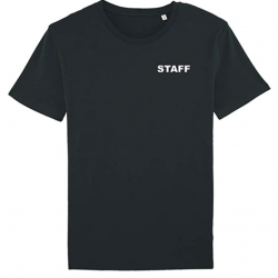 TEE SHIRT NOIR STAFF