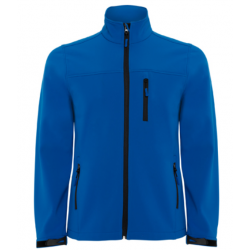 Blouson Softshell optimal bleu royal