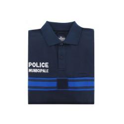 Polo Manches CourtesPoly-Coton Police Municipale