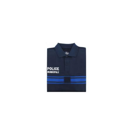Polo Poly-Coton Police Municipale MC
