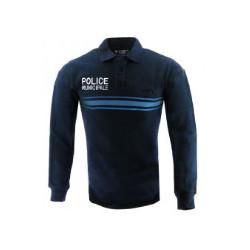 Polo Poly-Coton Police Municipale M.longues