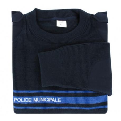 Pull Police Municipale Hiver