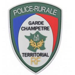Ecusson de bras PVC Police Rurale Garde Champêtre