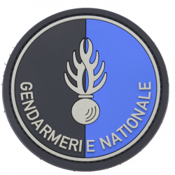 Ecusson pvc GENDARLMERIE NATIONALE