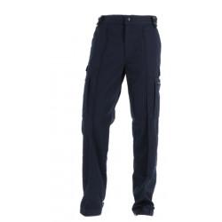 Pantalon mat ULTIMATE marine bas droit + cordon de serrage - GK PRO