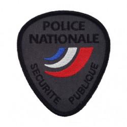 Ecusson de bras POLCE NATIONALE brodé Sécurté Publique BV