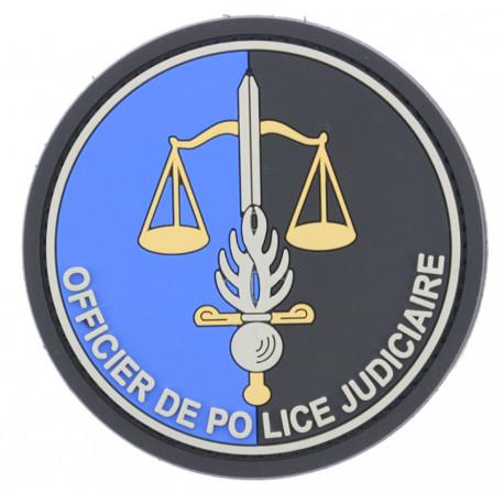 Ecusson PVC OPJ Gendarmerie