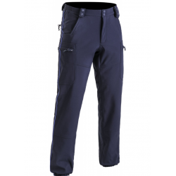 Pantalon déperlant Softshell doublé polaire PM - TOE