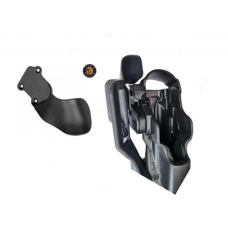 Patte de sécurité 8K97 noir pour holster droitier