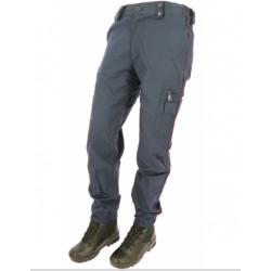 Pantalon Mat élasthanne liseré bordeaux