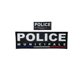 Jeu de bandeaux Police Municipale PVC France