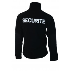 BLOUSON POLAIRE OPTIMAL SECURITE NOIR
