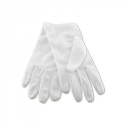 GANTS DE CEREMONIE BLANC NYLON