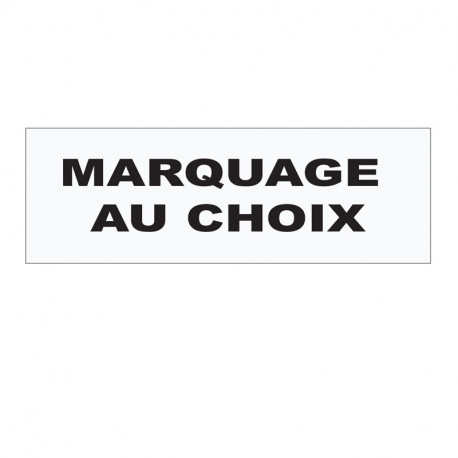 BANDEAU HAUTE VISIBILITE MARQUAGE AU CHOIX
