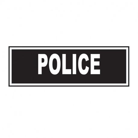 BANDEAU POLICE INVERSER