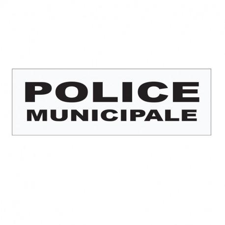 BANDEAU SUR VELCRO POLICE MUNICIPALE HAUTE VISIBILITE