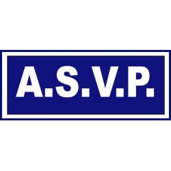 BANDEAU HAUTE VISIBILITE A.S.V.P.
