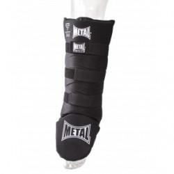 Protège tibia pieds Métal Boxe