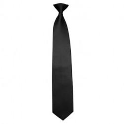 Cravate clip noir