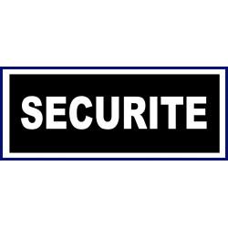 bandeau noir dominant SECURITE