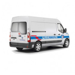 KIT GRAND VL et PETIT UTILITAIRE POLICE MUNICIPALE sans pose