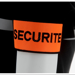 BRASSARD SECURITE (100% POLYESTER)